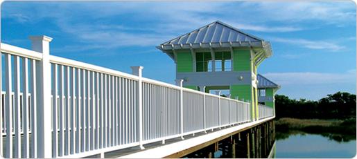 Fiberon Horizon® Railing — Mission Style - a BB&S Treated Lumber of