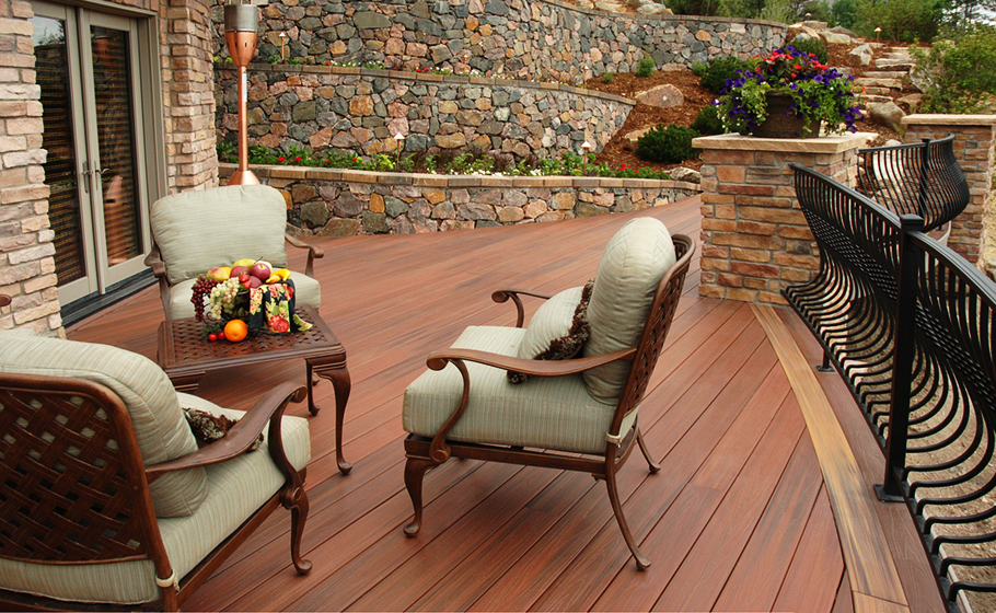 Fiberon Decking Example